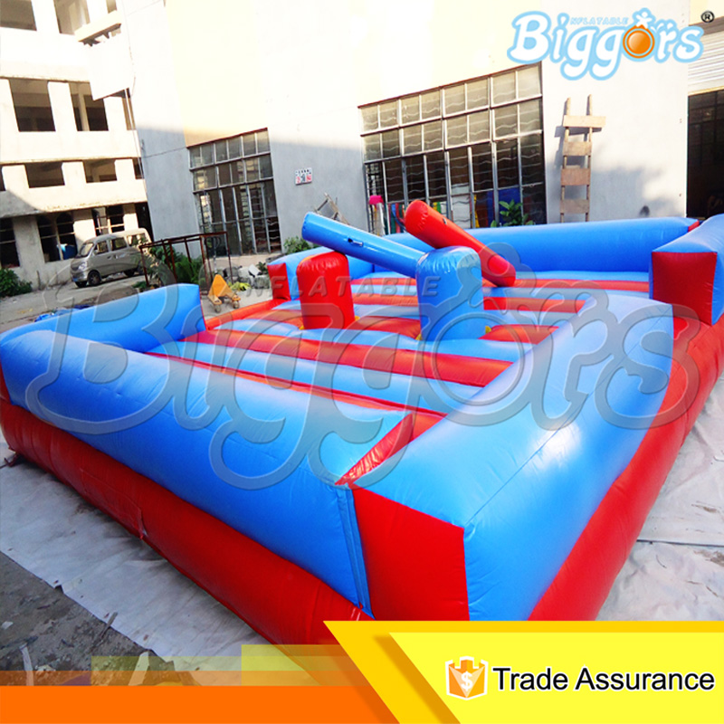 Outdoor Inflatable Bounce House Sport Game Inflatable Gladiator Stick Game For Sale