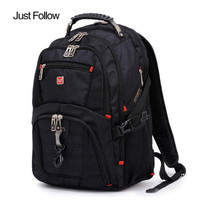 2017 New 15 Inch Backpacks Male Large Capacity Bag Men And Women Laptop Backpack Luggage Men