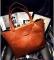 Bolsas de couro genuíno para mulheres bolsas Designer bolsas e bolsas das senhoras Bolsa de ombro Bolsa rebite Feminina Sac