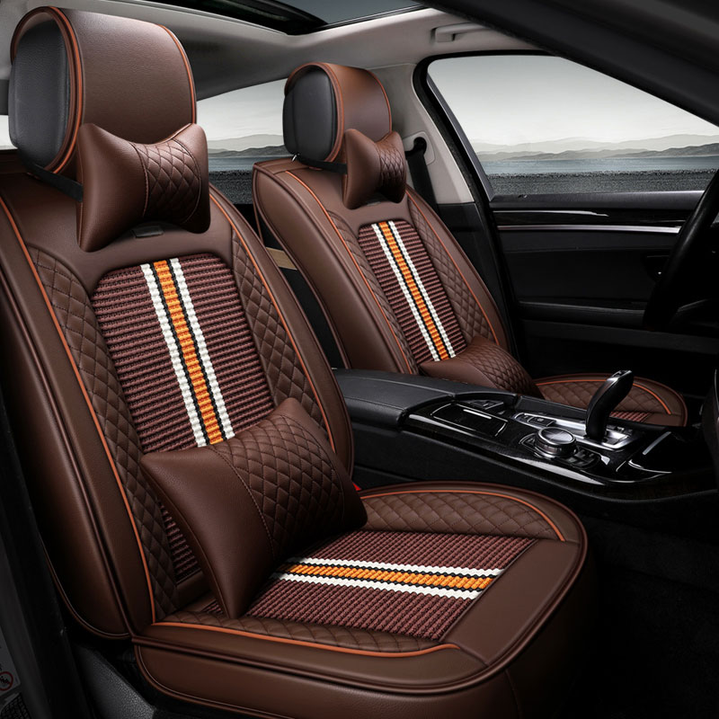 New car seat cover auto seat protector mat for volkswagen vw jetta santana volante caddy touareg mg6 mg3 MG7 MG5 car accessories