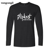 2017 Man S T Shirt Slipknot Rock Band Heavy Metals T Shirt Women Spring Autumn Rock