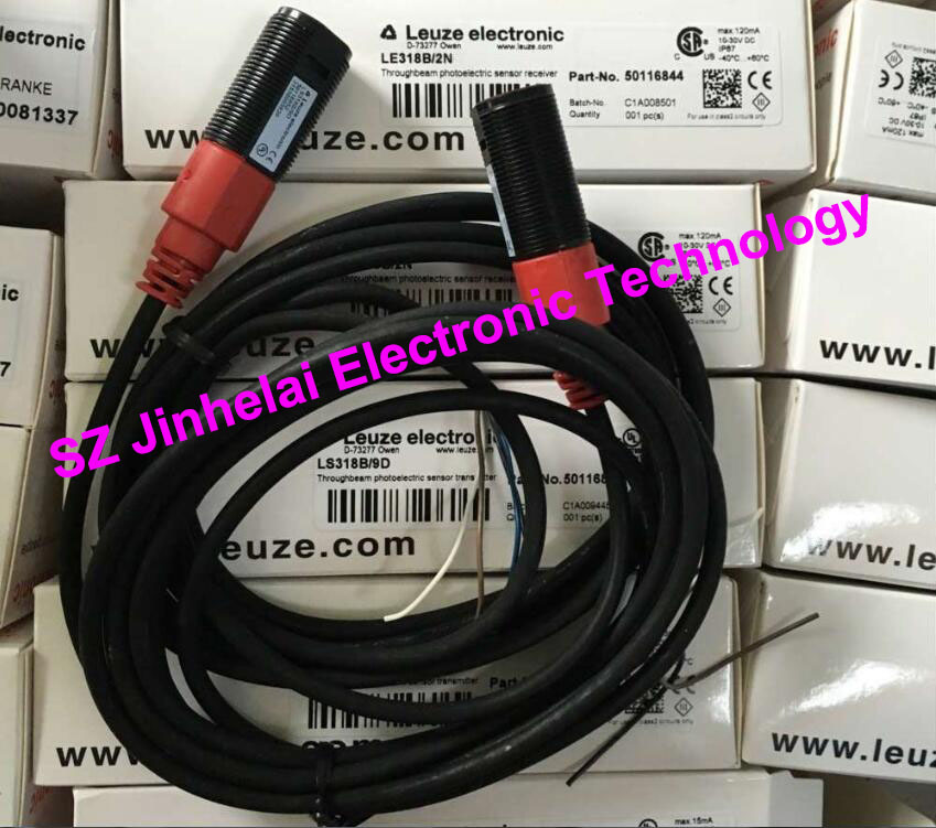 LS318B/9D+LE318B/2N  New and original Germany LEUZE Photoelectric switch gf go7300 b n a3 gf go7400 b n a3