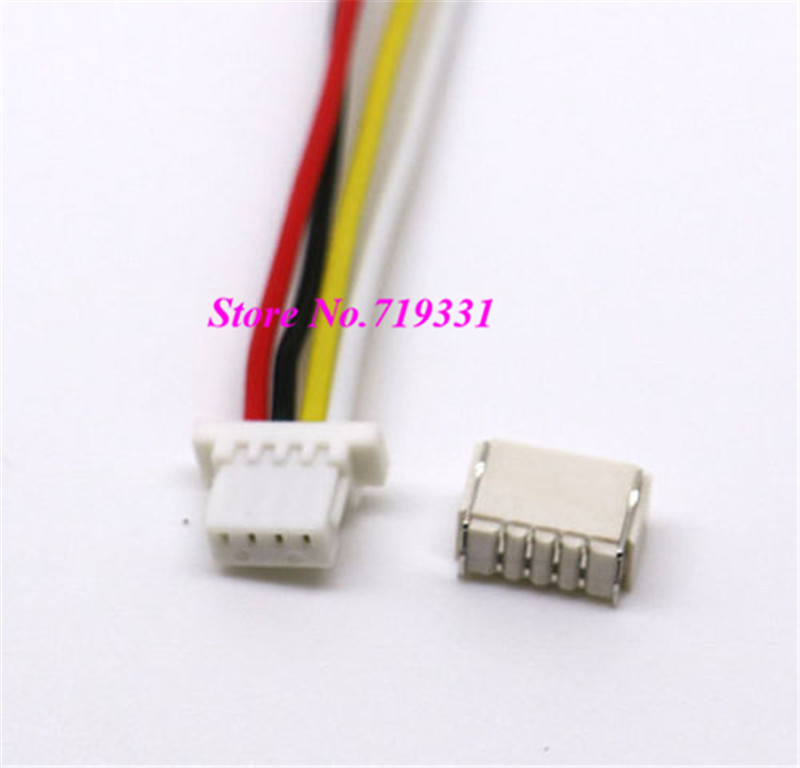50 Pairs Mini Micro SH 1.0 4 Pin JST Connector with Wires Cables-in ...