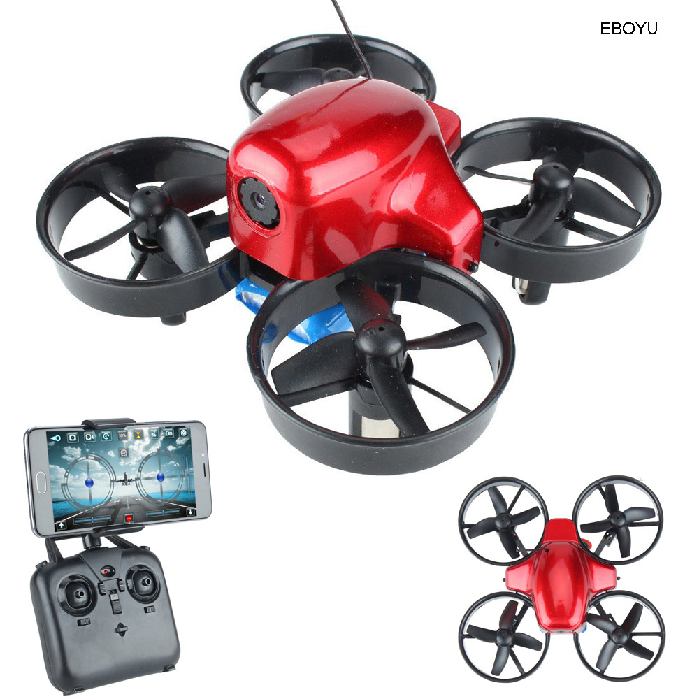 EBOYU SG100 RC Drone with WiFi FPV 0.3MP HD Camera Altitude Hold Headless Mode Training Educational RC Quadcopter Drone Toy