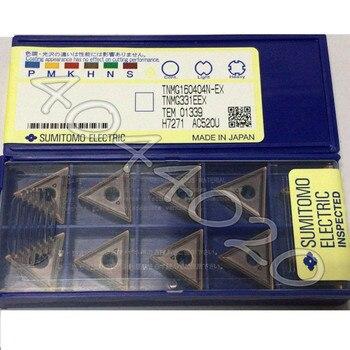 TNMG160404N-EX AC520U 10 шт/кор. Sumitomo новое оригинальное твердосплавное лезвие