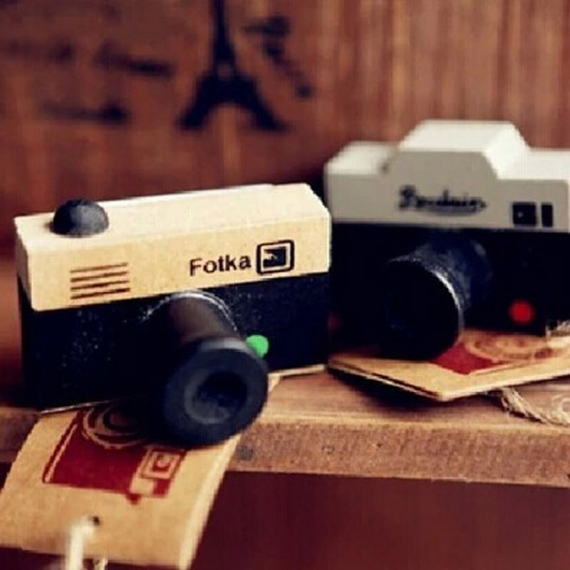 DIY Vintage Retro Classic Camera Wooden Stamps for Decoration Scrapbooking Photo Album Diary Gift Free shipping 633 jwhcj vintage cat date wood roller stamps for children diy handmade scrapbook photo album diary book decoration students stamps