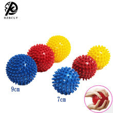 3pcs/set PVC Spiky Massage Ball Trigger Point Sport Fitness Hand Foot Pain Stress Relief Accessories Muscle Relax