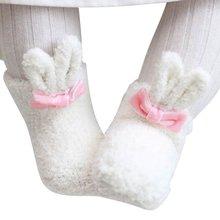От 0 до 1 года; носки для новорожденных; Одежда для девочек с кроликом; коралловые аксессуары; дизайнерские брендовые носки для новорожденных; флисовые детские носки с длинными ушками