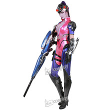 Miccostumes Anime Widowmaker Amelie Lacroix Cosplay Ropa de Mujer