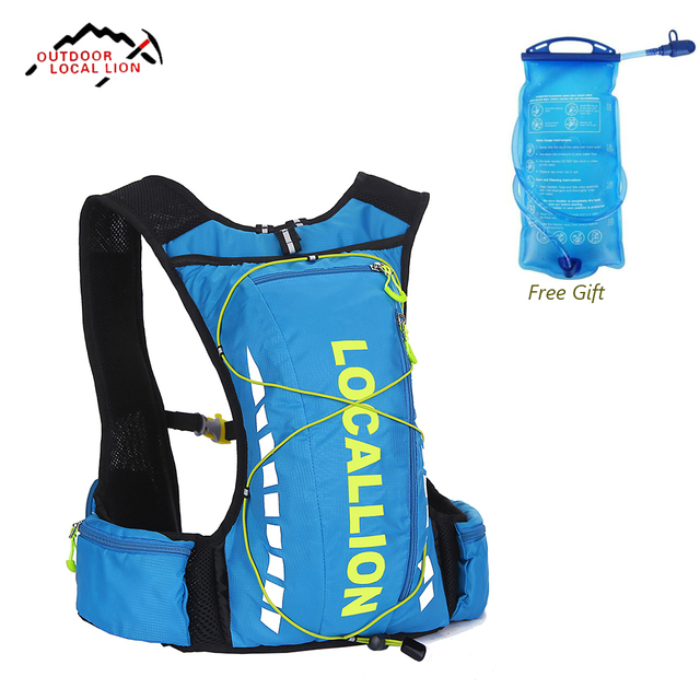 10L Professional cycling Sport backpack Waterproof suspension breathable bicycle bag Lightweight outdoor riding bike bags
