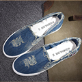 Nice Casual Shoes New Denim Cut Out Canvas Shoes Flat Fashion Trend Nice Comfortable Women Loafers Casual Shoes