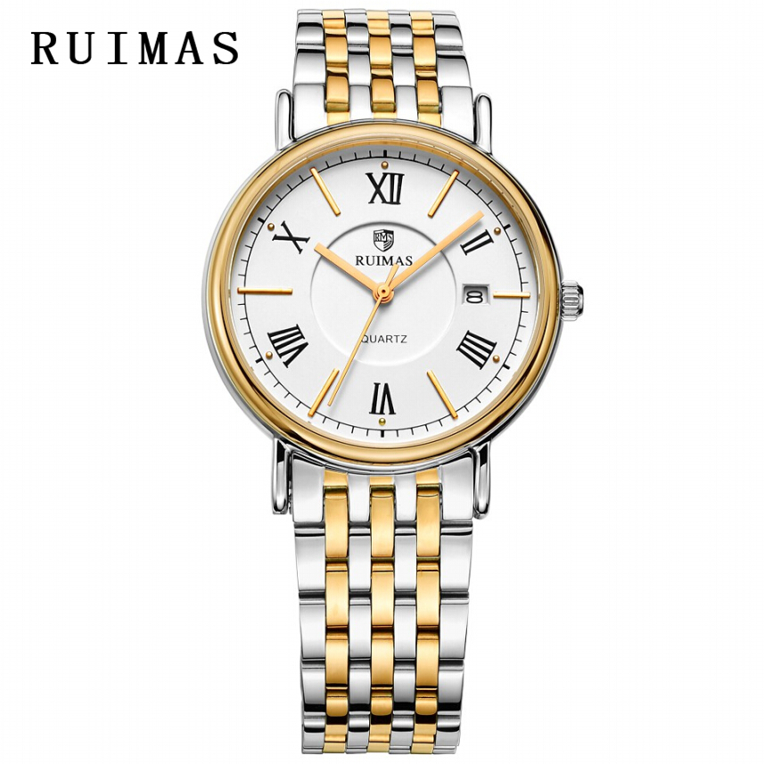 Vestido de caballero de negocios RUIMAS Reloj de cuarzo masculino - Relojes para hombres - foto 5