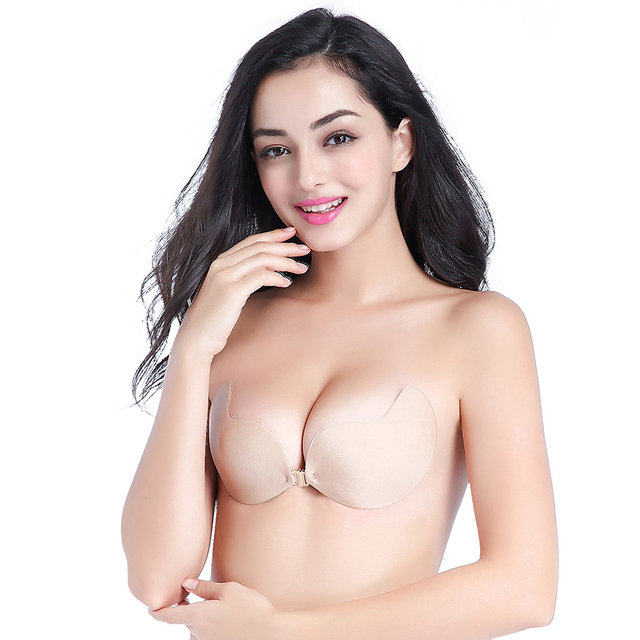 Self-Adhesive Strapless Push Up Bra