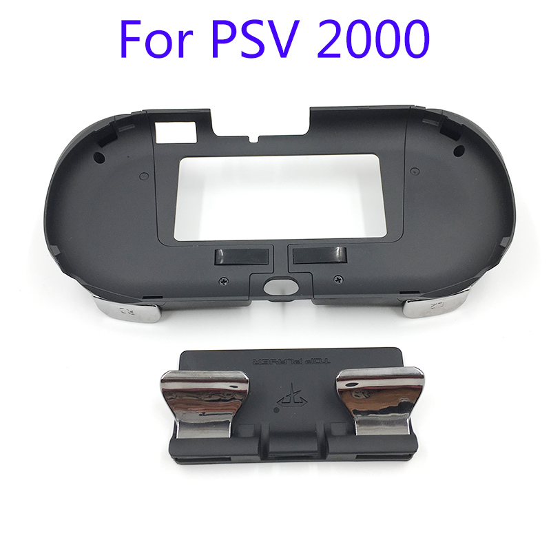 L3 R3 Main Grip Poignée Joypad Stand Cas avec L2 R2 Bouton de déclenchement Pour PSV 2000 PSV2000 PS VITA 2000 Mince Jeu Console