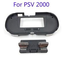 L3 R3 El Kavrama Kolu Joypad ile Kılıf Standı L2 R2 Tetik Düğmesi PSV 2000 PSV2000 PS VITA 2000 slim Oyun Konsolu
