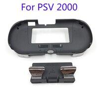 L3 r3 alça de mão joypad suporte caso com l2 r2 botão gatilho para psv 2000 psv2000 ps vita 2000 magro jogo console|case me|case case|case with handle -