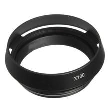 5x HFES Mới Đến 49Mm LH JX100 Lens Hood LA 49X100 Adapter Vòng F Fujifilm X100
