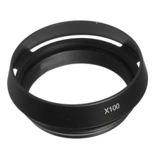 5x HFES New Arrival 49mm LH JX100 Lens Hood LA 49X100 Adapter Ring f  Fujifilm X100