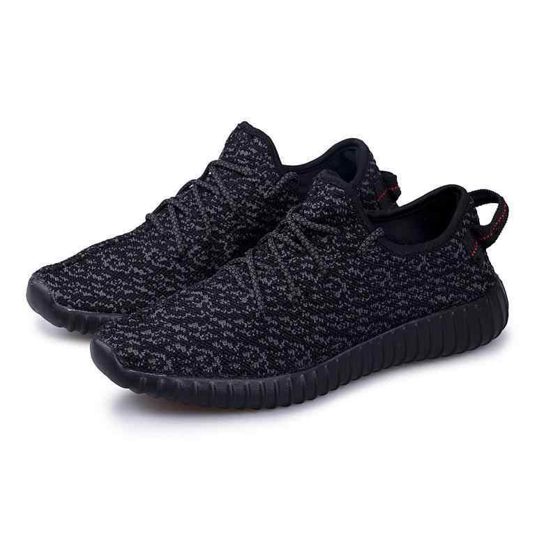 Новинка 2018 года; дышащая сетчатая Летняя мужская повседневная обувь; Мужская модная обувь без шнуровки; прогулочная обувь унисекс; обувь для влюбленных пар; прогулочная обувь