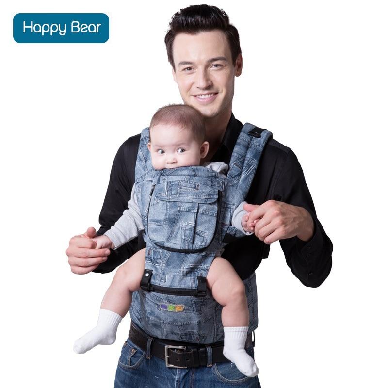 HappyBear Baby Carrier Ergonomic Baby heaps carrier multifunctional backpacks & carriers infant Backpack kangaroo sling wrap 8 in 1 ergonomic baby carrier sling 2017 breathable baby kangaroo hipseat backpacks carriers removeable backpack sling