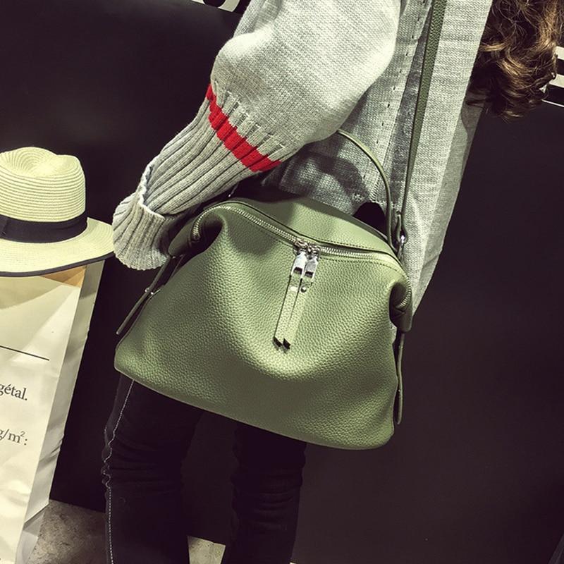 Big bags women s handbag the trend of fashion brief shoulder bag casual soft leather messenger