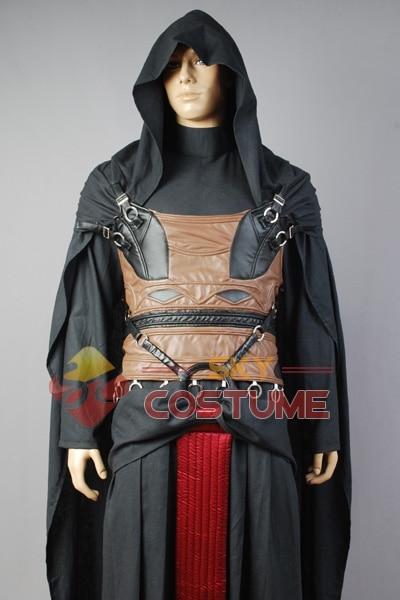 Star Wars Darth Revan Cosplay Kostuum Volledige set Outfit Cape - Carnavalskostuums - Foto 3