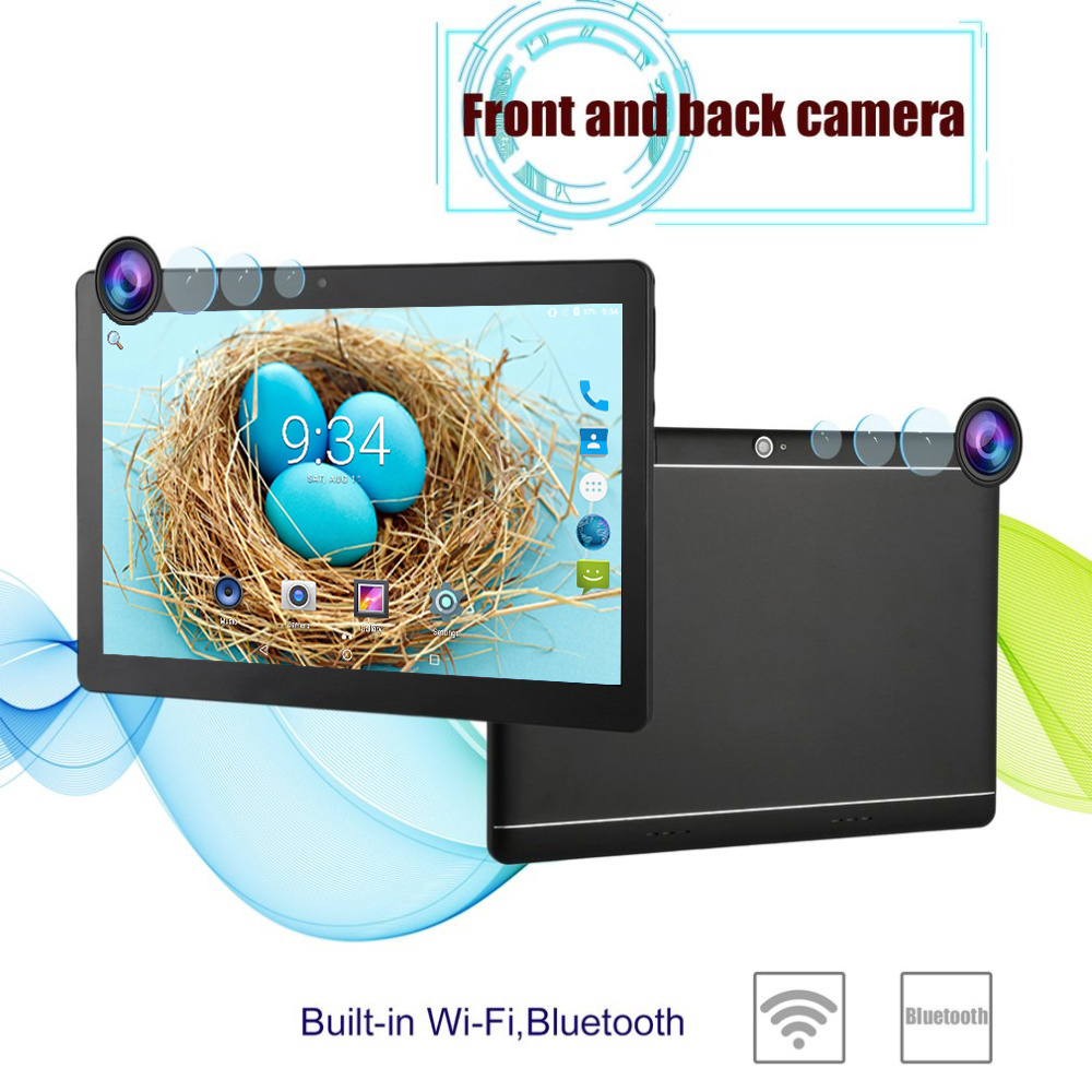 10 inch tablet pc 3g 4g lte google android 7 0 4gb ram. Black Bedroom Furniture Sets. Home Design Ideas