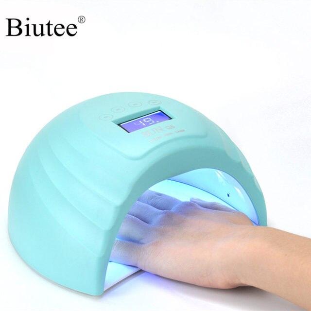 Biutee 2 ב 1 נייל מנורת LED 36 W מייבש ציפורניים ג 'ל פולני אשפרה אור אינפרא אדום חיישן 10 s /30 s/60 s/99 s טיימר LCD תצוגה
