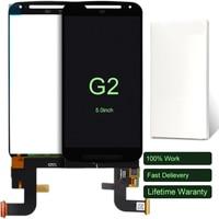 10pcs For Motorola Moto G2 G 1 XT1063 XT1068 XT1069 LCD Display 5 Inch White Black