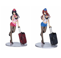 Twilight Action Figure Vol 01 CA Cabin Attendant Yoko Miyazawa PVC Sexy Figure 1 7 Scale