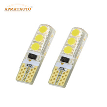 2 x Car Styling T10 T16 W5W LED Clearance Light Marker Lamp Bulb Source For Toyota Crown Vois Camry Highlander Previa RAV4 Yaris