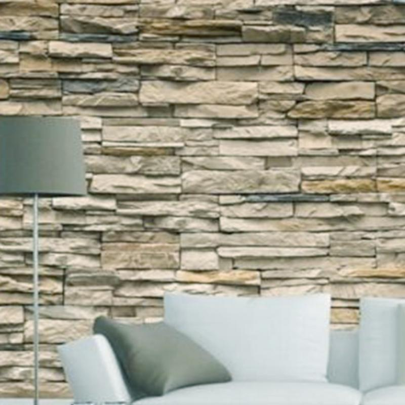 Online get cheap faux stone walls for 3d stone wallpaper for walls