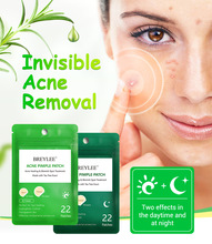 BREYLEE 22 Patches Tea Tree Acne Pimple Patch Daily Night Remove Serum Skin Care Treatment Stickers Essence