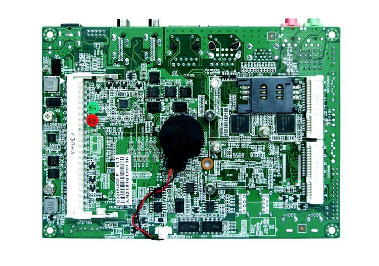 6*COM Dual Lan Celeron 3215U on board Mini motherboard GPIO Suitable For POS Machine ATM TV BOX