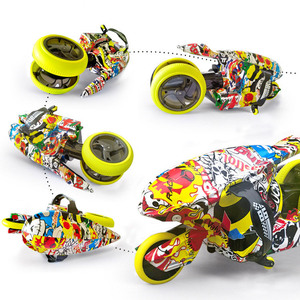 Cool RC Motorcycle with 360°