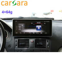 Car Tablet 10.25 Android Monitor Dashboard Facelift Touch Screen for C Class W204 C250 C300 C350 2008 2009 2010