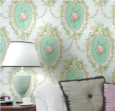 Non-woven wallpaper Europe type restoring ancient ways rural mirror flower wallstickers sitting room bedroom sofa background 90 stereo video wallpaper tv setting europe type restoring ancient ways sitting room bedroom non woven wall sticker home decor