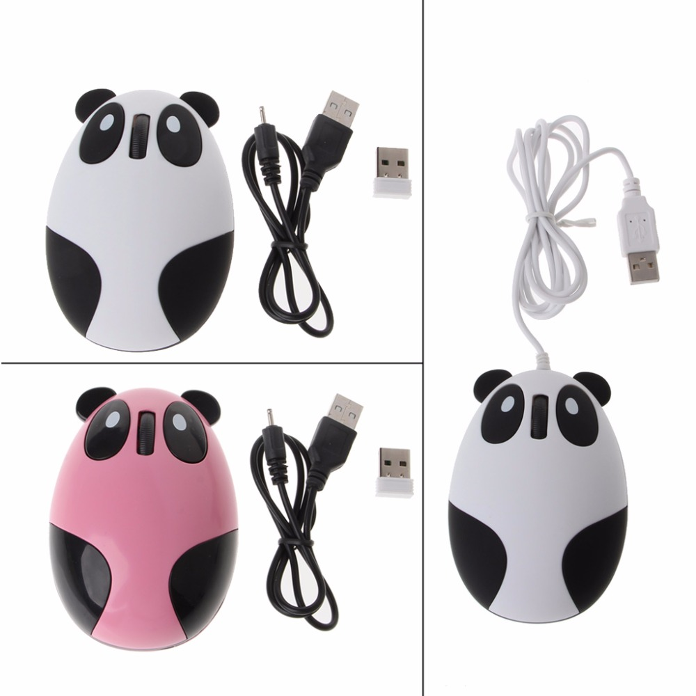 US $5 22 10% OFF|Wireless Optical Cute Panda Computer Mouse Fit For  Windows/Vista/Linux/Android/Mac-in Mice from Computer & Office on  Aliexpress com |