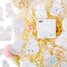20pack/lot cartoon mini paper sticker rabbit animal decoration stickers DIY diary scrapbooking planner label