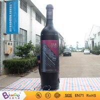 Реклама Inflatabel красное вино бутылка 3.3 м на Октоберфест Конструкторы bg a0657 6