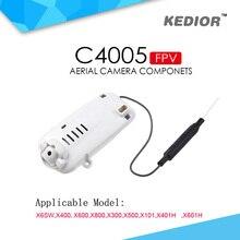 Hot Selling C4005 0.3MP WiFi FPV Camera For X401H X601H X400 X500 X600 X800 X101 X6SW RC Quadcopter Drone Spare Parts