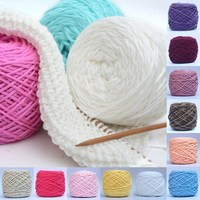 200g Smooth Cotton Hot Hot Sale Wholesale Soft Natural Double Knitting Wool Yarn Baby Woolcraft Gift