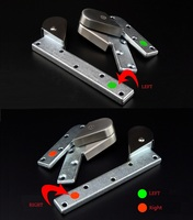 Cast Iron Door Pivot hinge fittings floor door spring hinge Hardware offset arm aluminum wooden frame
