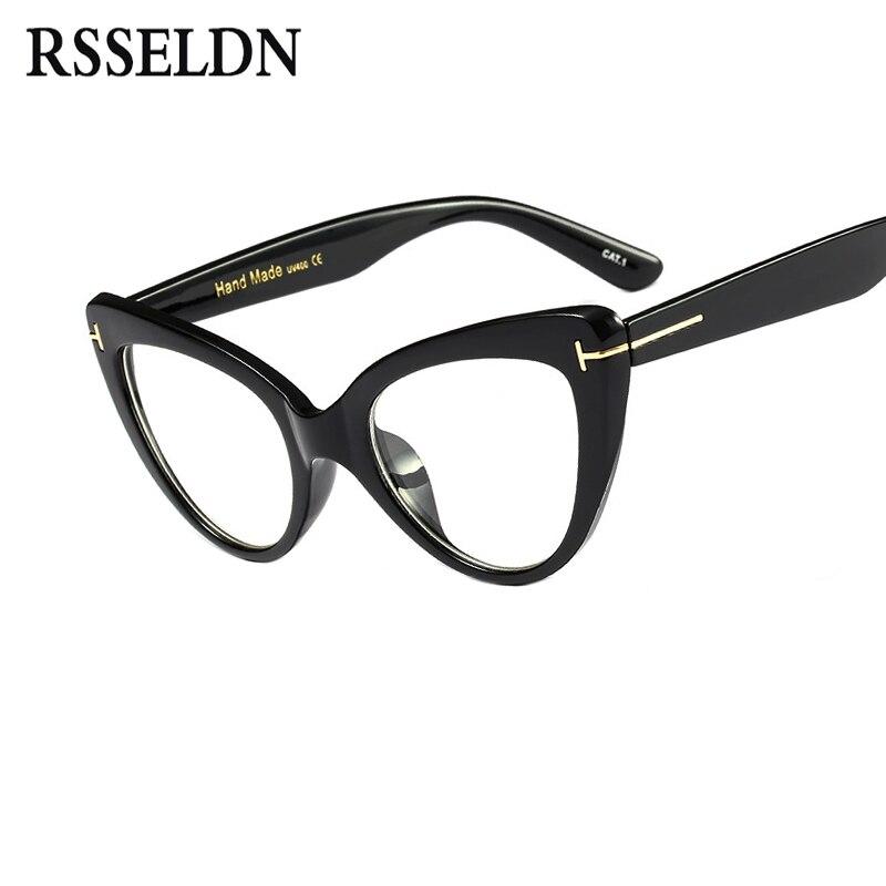 Big Cat Eye Glasses Frames
