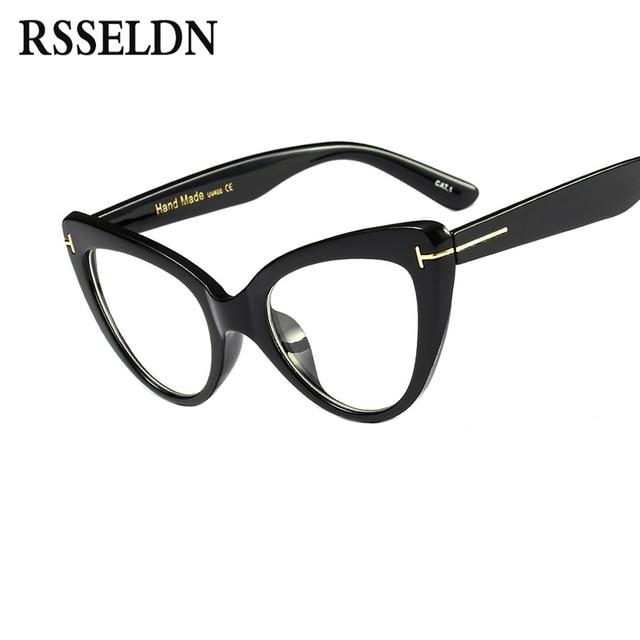 Aliexpress.com : Buy RSSELDN New 2018 Fashion Cat Eye Glasses Frames ...