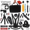 XiaomiYi Accessories Waterproof housing Case Sponge Octopus Tripod Big Box For xiaomi yi 2 4K Action Sports Camera VS39