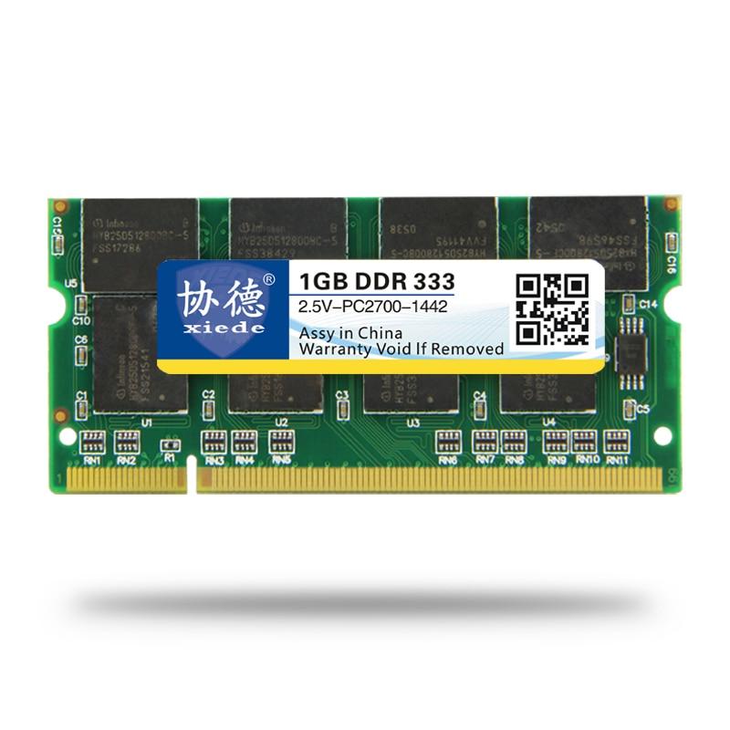 XieDe Memory Ram DDR 1GB para portátil Sodimm Memoria 400 Mhz 333MHz - Componentes informáticos - foto 5