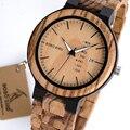 BOBO BIRD деревянные мужские часы erkek kol saati кварцевые наручные часы Мужские часы для демонстрации даты и недели в подарочной деревянной коробке