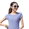Women Polo Shirt Womens Tops Stripe Polo Shirt Tee Shirt Femme r Short Sleeve tshirt Fashion Ladies Plus Size Cotton clothes