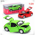 1:32 Diecast Alloy car model toy metal material vehicles vw beetle car alloy material 2 color choice volkswagen car model C1039